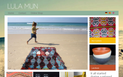 Lula Mun - Handmade Moroccan products sold in Spain