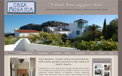 Casa Mosaica Holiday Rentals in Gaucin