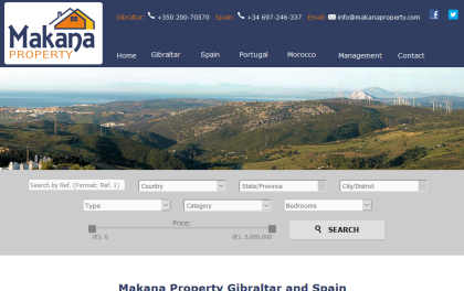 Makana Property, Gibraltar Real Estate